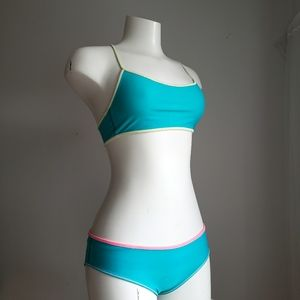 Lululemon Ivivva Reversable Bikini Sz XS(Girls 12)